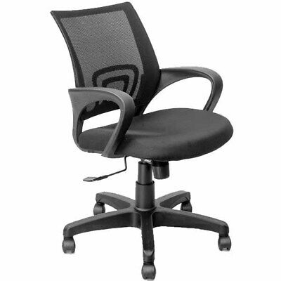 Ergonomic Mesh Computer Office Desk Chair Swivel Metal Base Black United States
