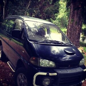 Mitsubishi Delica Space gear exceed 2.8 Turbo Diesel Mullumbimby Byron Area Preview