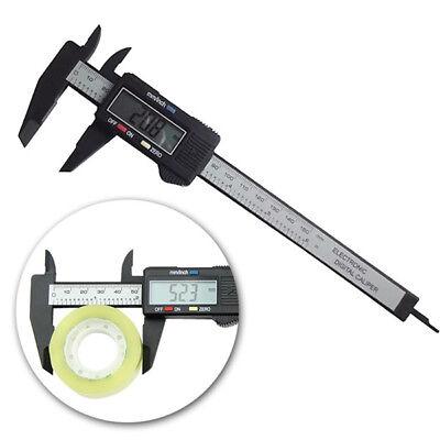 Daniu 6inch 150mm Electronic Digital Caliper Ruler Carbon Fiber Composite