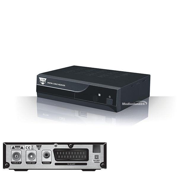 Opticum C100 digitaler Kabel Receiver DVB-C Cable Scart C 100