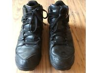 Adidas men's winter leather boots size 9