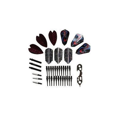 Halex Soft Tip Darts Accessory Kit flights tips shafts dart