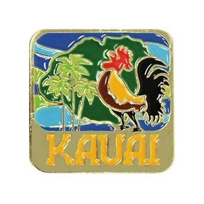 Islander Hawaiian Lapel Hat Pin Kauai Rooster ()