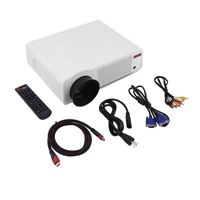 Professional Home Theater Projector Led86 5000 Lumens Full Hd 1080P - White