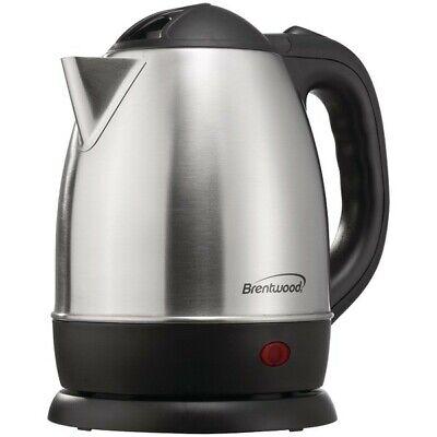 Brentwood BTWKT1770 Stainless Steel Electric Cordless Tea Ke