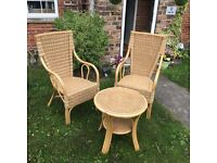 Wicker Garden / conservatory furniture