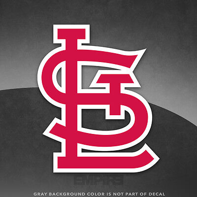 St  Louis Cardinals Logo Vinyl Decal Sticker Mlb   4  And Larger Sizes   Glossy