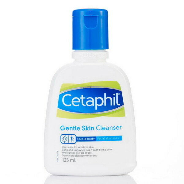 125 ml. Cetaphil Gentle Skin Face Wash Anti-Pimple Anti-Acne