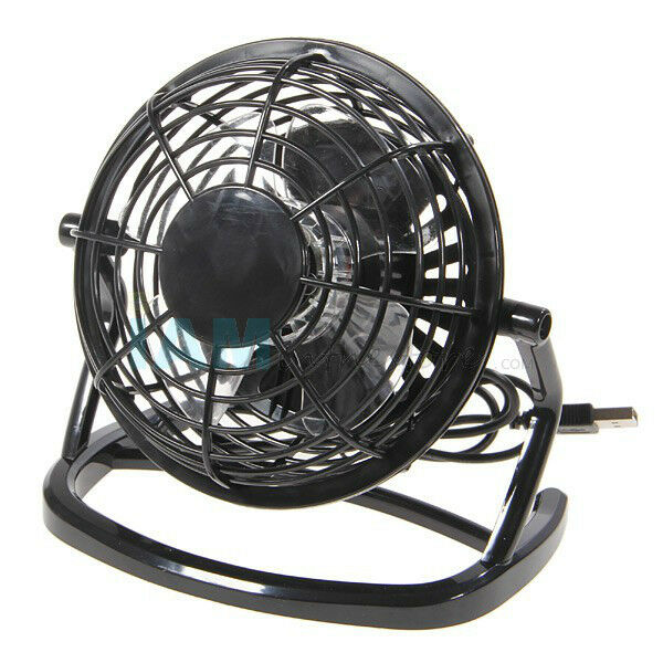 Ultra Quiet USB Powered Mini Desk Fan For Notebook PC Home O