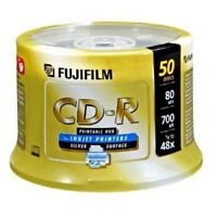FUJIFILM CD-R 50 Pack Spindle 48x 700MB/80min