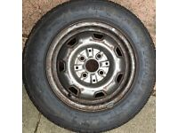 13 inch Tyre on Toyota Rim Ideal for Trailer