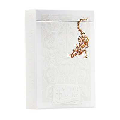 Gold Foil GatorBacks Playing Cards Deck Brand New Sealed