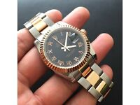 Rolex datejust II rose gold and stainless steel MASSIVE REDUCTION from £195 to £145