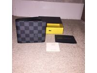 LV men's wallet Louis Vuitton men's wallet designer wallet designer men's