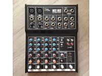 Mix 802 6-channel mixer