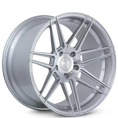 """4ea 20x10.5"""" Ferrada Wheels F8-FR6 Machined Silver Rims(S4)"""