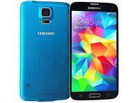 Sim Free Samsung Galaxy S5 Blue 16GB