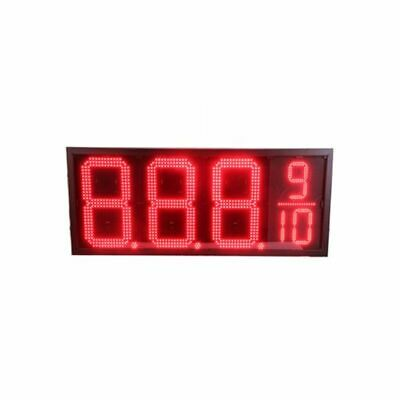 12 Led Gas Station Electronic Fuel Price Sign Red Motel Price Sign