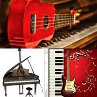 All kind guitar and piano