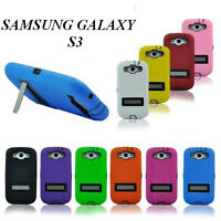 Defender Case with Stand for Samsung Galaxy S 3 / III I9300