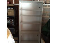 Grey Mfc Bookcase
