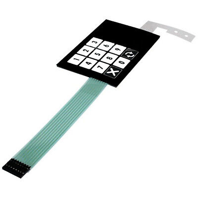 Dresser Wayne Ovation Membrane Keypad Preset 887862-050