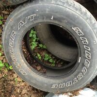 5 TIRES 18 INCHES NEED GONE!!