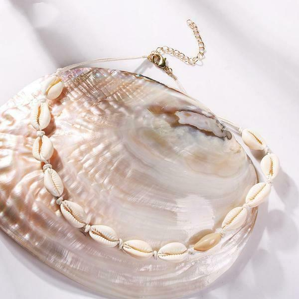 Jewellery - Womens Beach Bohemian  Sea Shell Necklace Choker Bracelets   Jewellery UK