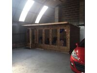 16ft X 8ft summer house/ shed/ office/ hut