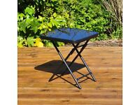 Folding Drinks Side Garden Patio Table (FREE LOCAL DELIVERY)
