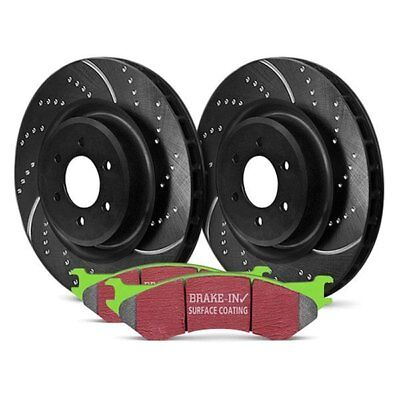 For Dodge Ram 3500 94-99 Brake Kit EBC Stage 3 Truck & SUV Dimpled & Slotted