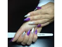Nail technician westend, Gel extension without tips
