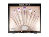 Brand new Make Up Revolution 2018 Make Up brushes