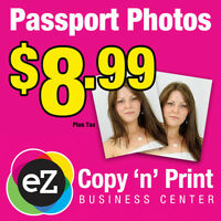 Canadian Passport Photos - $7.99 - Brampton & Mississauga Area