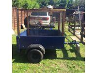 For sale metal car trailer
