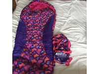 Girl's sleeping bag