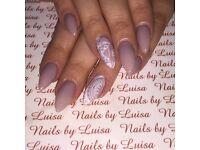 Acrylic nail extensions & CND shellac