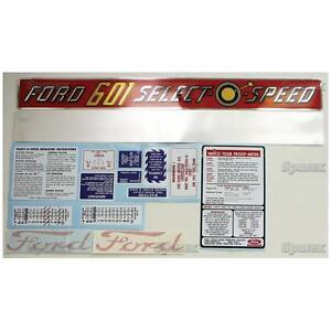 New-Ford-601-Select-O-Speed-Complete-Decal-Set