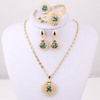 Blue Sun Ensemble de bijoux NEW