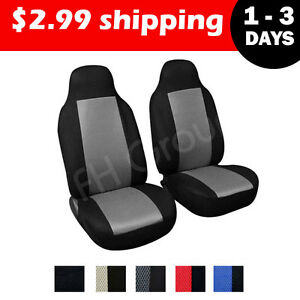 Pair Bucket Seat Covers for Chevrolet Astro Cargo Van 1