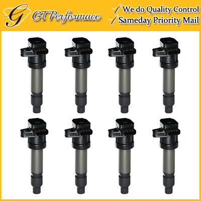 OEM Quality Ignition Coil 8PCS for Buick Lucerne/ Cadillac DTS SRX STS XLR V8