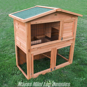 ♥♥♥ Rabbit Hutch Double Storey + Pull Out Tray ♥♥♥ Londonderry Penrith Area Preview