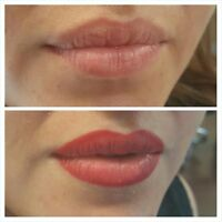 Permanent Lip Liners and Color___Cosmetic Tattoo__Real Pictures