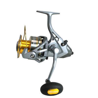 Spinning Fishing Reel 6000 Aluminum Spool 7+1BB 4.5:1 Salmon Lake Bank RSXB6