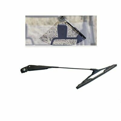 Universal Wiper Arm and Metal Base Blade Kit for Fishing Boat ATV UTV 11