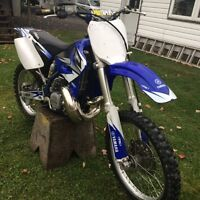 Yz 250 with ownerships