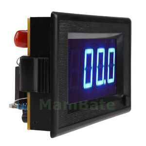 200V 200A DC Digital Blue LED Combo Panel Amp Volt Meter Shunt Digital Voltmeter