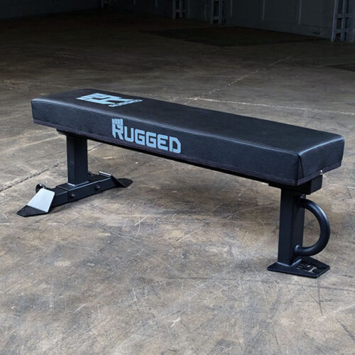 Rugged XL Flat Weight Bench - 1000 lb capacity, Lifetime in-home Warranty Y041