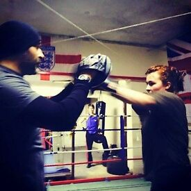 Boxing training one to one