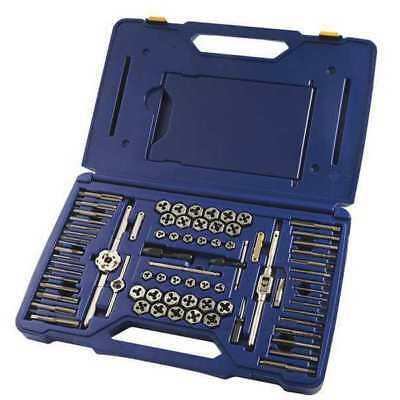 Tap and Die Set,76 pc,High Carbon Steel
